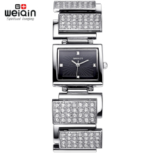WEIQIN Brand Women Full Rhinstone Diamond Watches Crystal Rhinestone Ladies Fashion Quartz Dress Wristwatch reloj mujer
