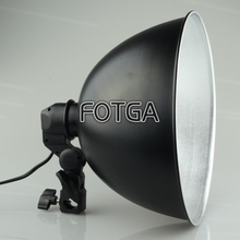 Wholesale FOTGA 27cm Lampshade Reflector Photo Studio Table Top Portable Light Head For Soft Box Cube Tent Lighting