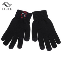TTLIFE Wireless Bluetooth Gloves Women Men Warm Running Gloves Touch Screen Handfree with mic For IOS Android fone de ouvido