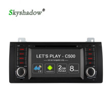 C500 8 Core+32G ROM+4G SIM+2GB RAM+Android 6.0 Car DVD Player Wifi GPS Radio Bluetooth TPMS For BMW E39 E53 M5 E38 Range Rover(China)