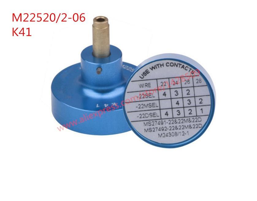 American Standard higher Quality locator K41 POSITIONER M22520/2-06 FOR AFM8 CRIMPER TOOL and 0.52-0.032 mm2 <br>