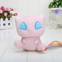 1 pcs 13cm/5'' Pink Cute Cat Rare Mew Plush Soft Doll Toy Baby Gift Game Character Good Quality Fast Shipping Better Service