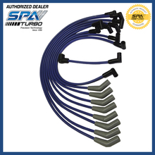 "RACING SPARK PLUG WIRE SET Fits For SB V8 302 5.0L 5.8L, F-150, Mustang BLUE NON HEI 9.0mm: ""E"" OR OIL FILLED STYLE COIL SPATURB"