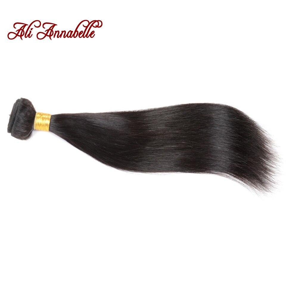 Unprocessed Brazilian Straight Hair Extension 1Pc Only Grade 8A Brazilian Virgin Hair Human Hair Weave Annabelle Brazilian Hair<br><br>Aliexpress
