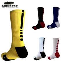 Thicken Towel Outdoor Men's Athletic Sport Socks Professional Elite Basketball Football Socks Brand Bicycle Bike Cycling Socks