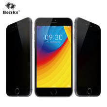 Buy Benks Anti Spy tempered Glass iPhone 8 7 6s Plus screen protector privacy Curved Full Cover Protective Tempered Glass Film for $8.73 in AliExpress store