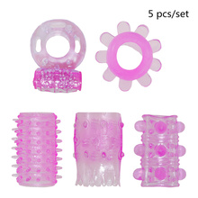 Buy 5 Different Penis Rings Sex Vibration Vibrator Cock Ring Penis Extender Ring Penis Enlargement Sleeve,Adult Sex Toys Men