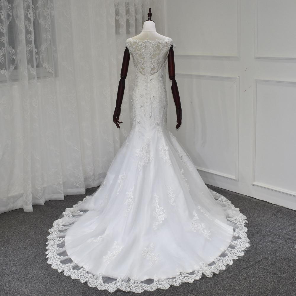 Miaoduo Wedding Dress Dream Angel Elegant Appliques Lace