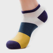 New Arrivals Leisure Cotton Men Socks Good Quality Short Socks Warm Stitching Color Casual Business MaleSocks F0253