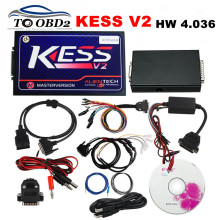 KESS V2 Newest Version 2.32 FW 4.036 KESS K-Suite Professional ECU Chip Programming Multi-Language OBDII Manager FREE SHIPPING