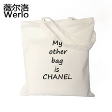WERLO Brand New Design Creative Women Bags Fashion Handbags Canvas Shoulder Bags Artistic Style Women Totes Shipping Bags SJ064