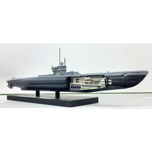 ATLAS World War II 1943 Germany U214 Submarine Model 1/350 Scale Diecast Finished Alloy Toy For Collect Gift