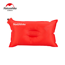NatureHike Ultralight Outdoor Traveling Automatic Air Inflatable Cushion Comfortable Soft Pillow 50*30CM Camping Mat(China)