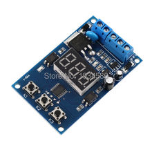 LED Display PLC Home Automation 12V 24V Trigger Cycle Timer Delay Switch Circuit Control Adjustable MOS FET Driver Module