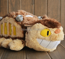 100% Positive Feedback!! 70cm CATBUS My Neighbor Totoro Cat bus plush toy doll birthday gift Christmas gift 1pc free shipping