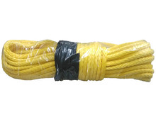 8mm x 30m Synthetic Winch Cable Rope for ATV/UTV yellow towing ropes free shipping