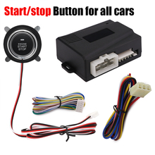New Car-styling Engine Start Stop Button Car Remote Smart Start engine Function Working Car Alarm System And Remote Central Lock