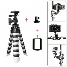"Mini Flexible Octopus Mobile Tripod 2-in-1 Gorillapod 11"" for iPhone GoPro Canon Nikon Sony Camera Table Desk Tripod Stand"