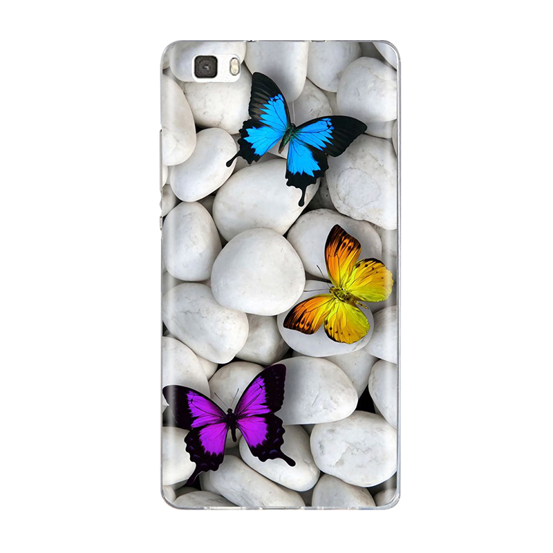 Case For Coque Huawei P8 Lite Case Cover Silicone For Capas Huawei ...