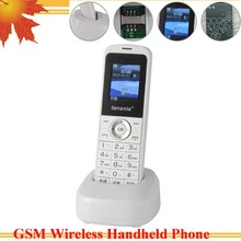 GSM portable telephone with 850/900/1800/1900MHZ wireless handset ,GSM Phone for office family mine remote mountain use