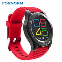 FORNORM Wireless Multi Bluetooth Digital Smart Wrist Watch Support SIM Heart Ratr Monitor Sleep Monitor For Android IOS Phone(China)
