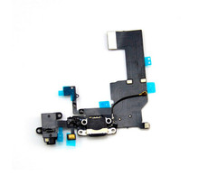For iPhone iPhone 5C Best Quality USB Dock Connector Charger Charging Port Flex Cable with Audio Jack
