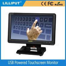 Lilliput UM-1010/C/T USB 5 Volt Powered 4 wire Resistive 10.1 inch Touchscreen Monitor NOT VGA input, just USB Input
