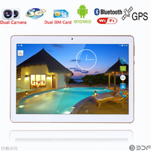 Russian warehouse Moscow shipped New 10 inch 2GB+32GB 3G Phone Call SIM card Android 6.0 Quad Core CE Brand WiFi FM Tablet pc(China)