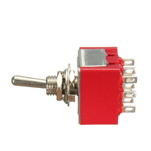 3PDT ON/OFF/ON 9Pin Mini Toggle Switch 6A 125VAC/2A 250VAC Electric Guitar Circuit Selector Switch Best Price(China)
