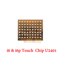 10pcs/lot Original new for Iphone 6 6+ 6plus U2401 touch screen controller driver IC chip BCM5976 white color(China)