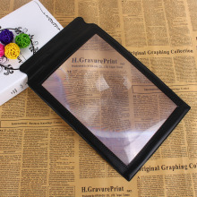 Hot Sale Big A4 Full Page 3x Magnifier Sheet LARGE Magnifying Glass Book Reading Aid Lens