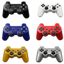 Wireless Bluetooth Game Controller Colors For SIXAXIS Playstation 3 Control Joystick Gamepad For Sony PS3(China)