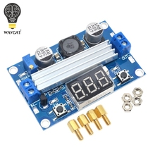 LTC1871 DC DC Step Up Booster Converter 3-35VDC to 3.5-35VDC + LED Voltmeter DC-DC Step Up Module Power Supply Voltage Regulator(China)