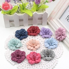 5pcs Environmental Protection Material Tree Peony Artificial Flowers For Wedding Festive Decoration Cloth Craft Supplies Flowers