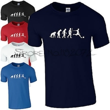 Evolution T-Shirt - Ape to Human Euro 2017 Fan Inspired Kids Mens Top