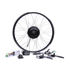 2017 Electric Bicycle Bicicleta Eletrica 36v350w Front/rear Electric Bike Conversion Kit Brushless Hub Motors 20'' 26'' 28''