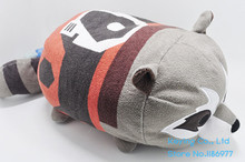 12'' TSUM TSUM Guardians of the Galaxy Rocket Raccoon Stuff Cute Plush Toy Baby Birthday Gift Pillow
