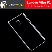 For Lenovo Vibe P1 Case TPU Silicon Clear Protector Back Cover For Lenovo P1 5.5inch Mobile Phone +Free Shipping - In Stock