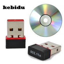 kebidu 150Mbps Mini Network Card Wireless USB WiFi LAN Adapter 802.11n/g/b WIFI adapters antenna For PC Computer Hot selling
