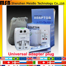 Universal US UK AU EU Converter Adaptor 250V 10A ac electrical Power International travel Adapter plug