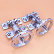 free shipping Cast Steel door handle steam box hinge oven door lock cold store handwheel kitchen cookware repair part