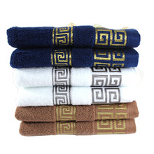 100% Cotton Solid Color towels Large Bath Sheet Bath Towel Hand Towel Face New SPA Bathroom Beach Bath Towels for Adults Hotel(China)
