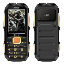 DBEIF D2000 Dual flashlight FM mp3/mp4 power bank magic voice change touch screen Rugged mobile phone cell P137