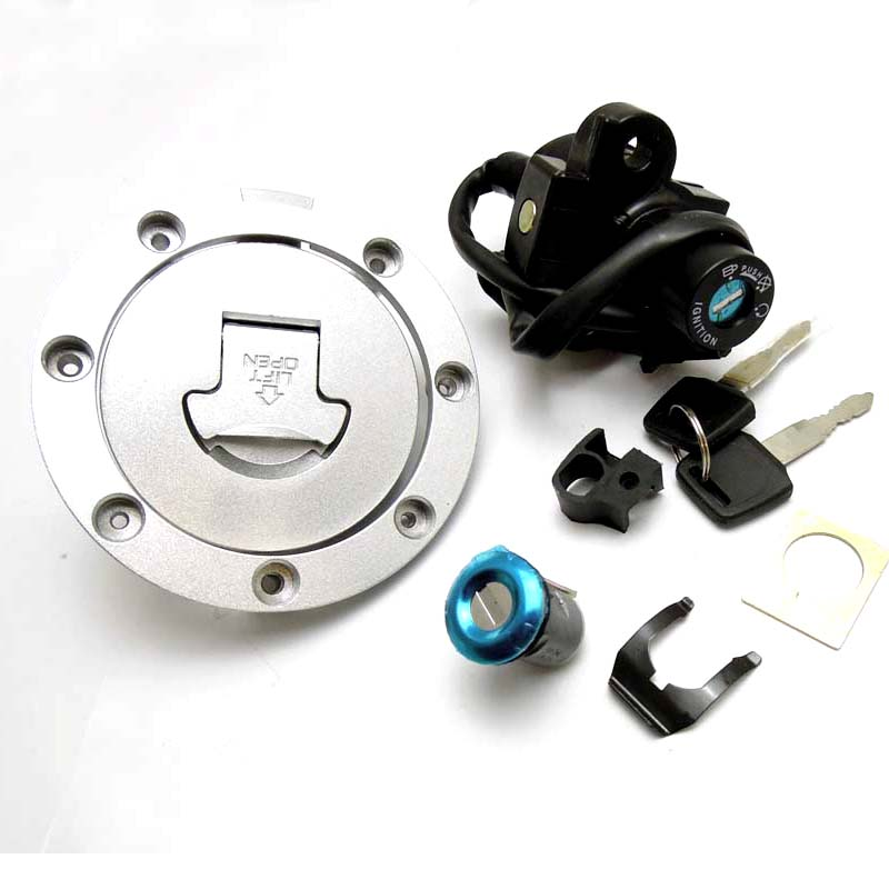 Ignition Switch Lock Fuel Gas Cap Key for Honda CBR250 400 NSR250 VFR400 CBR400 NC23 NC29 after market<br>