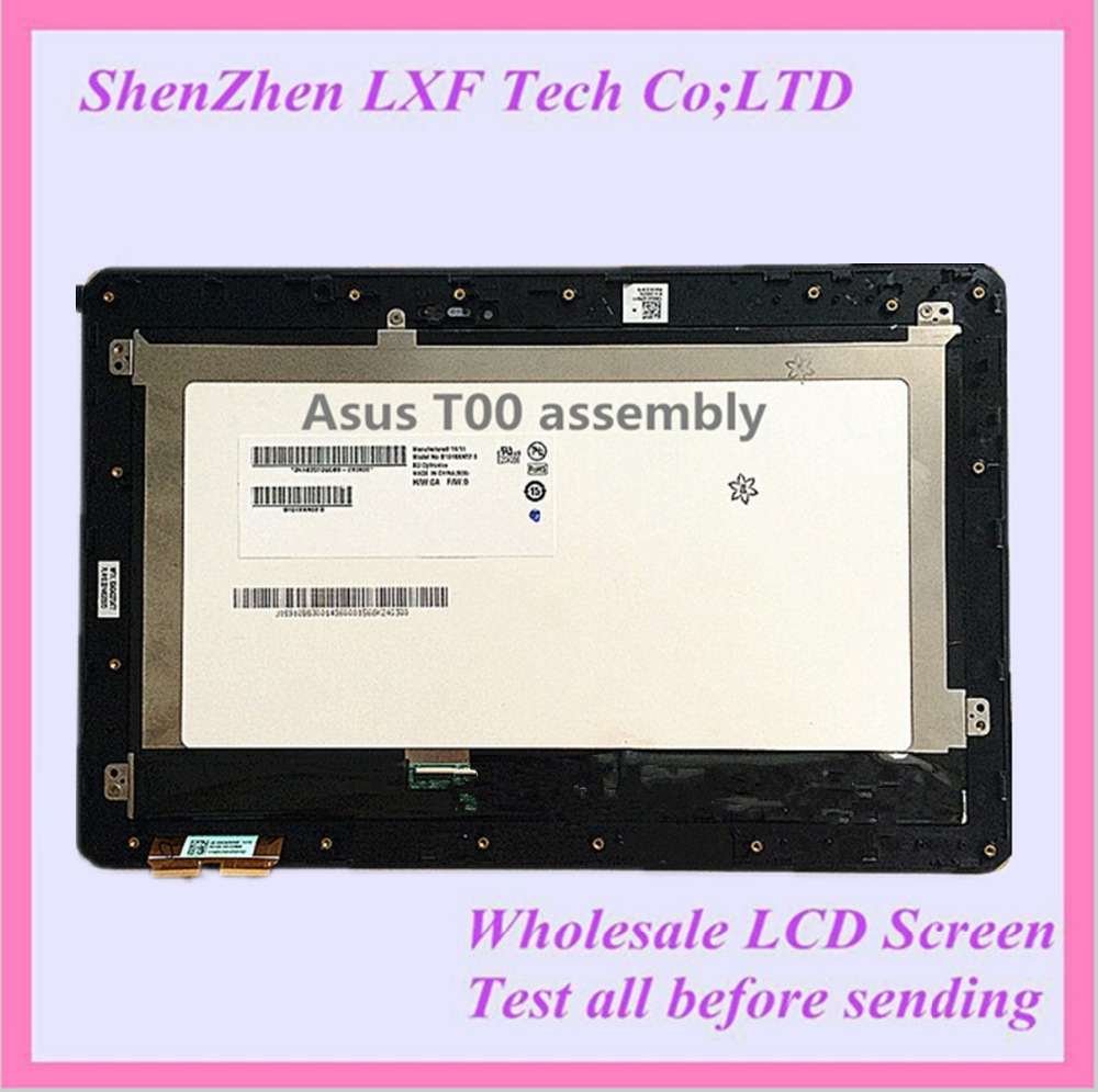Tablet Touch LCD Screen Assembly + Frame Black Digitizer 10.1 For Asus Transformer Book T100 5490N T100TA<br><br>Aliexpress