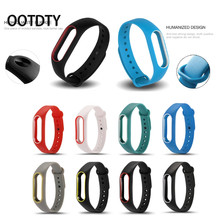 Buy OOTDTY Smart Wrist Silicone Watch Band Strap Wristband Bracelet Replacement Xiaomi Mi Band 2 for $1.45 in AliExpress store
