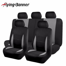 Seat Covers & Supports 11pcs Car Seat Cover Universal Fit Most Vehicles Interior Accessories Grey Seat Cover Car Seat Protector(China)