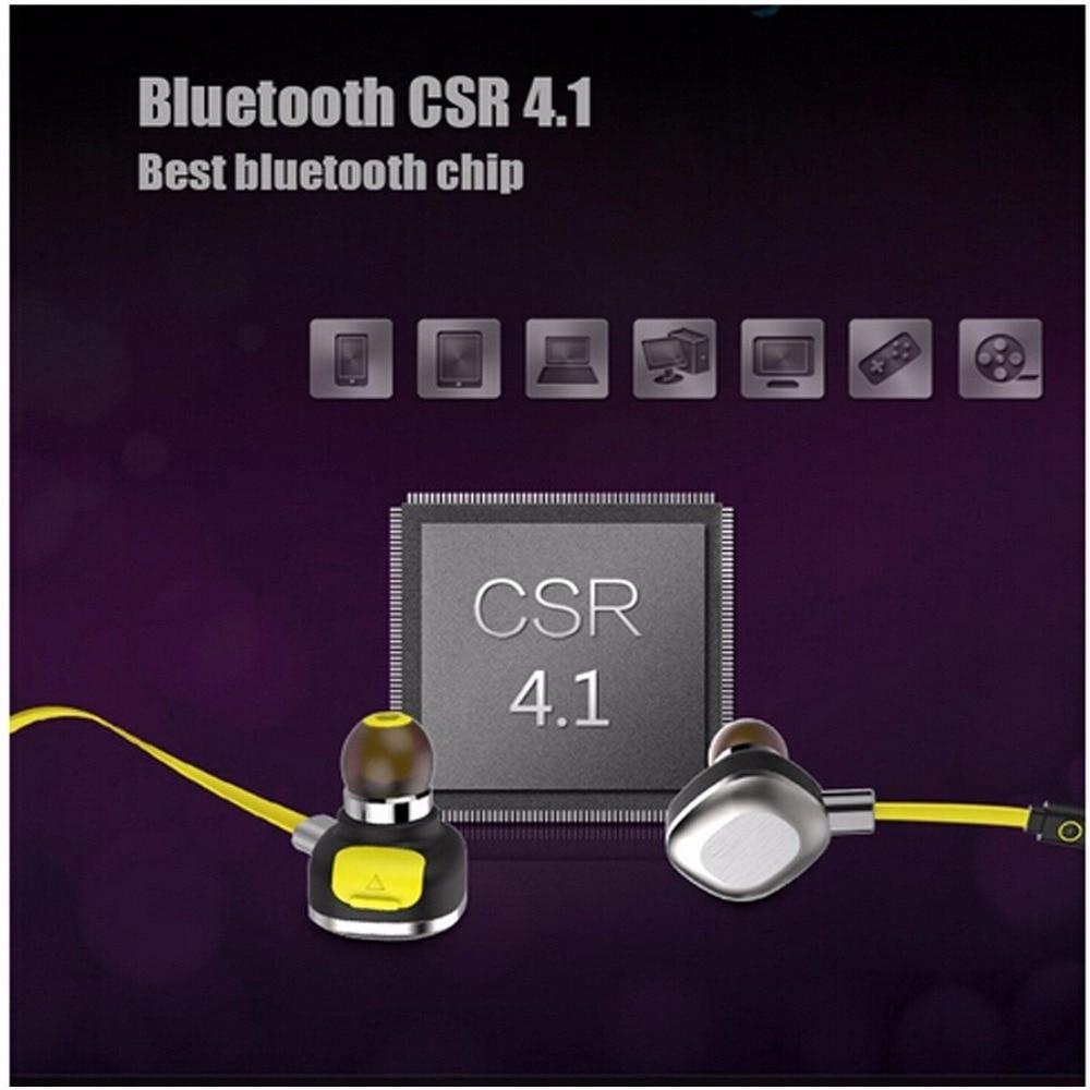 Fashion highend U5 IPX7 Waterproof Sport Earphone Magnetic Wireless Earbuds Running Bluetooth Headset Stereo Earphone