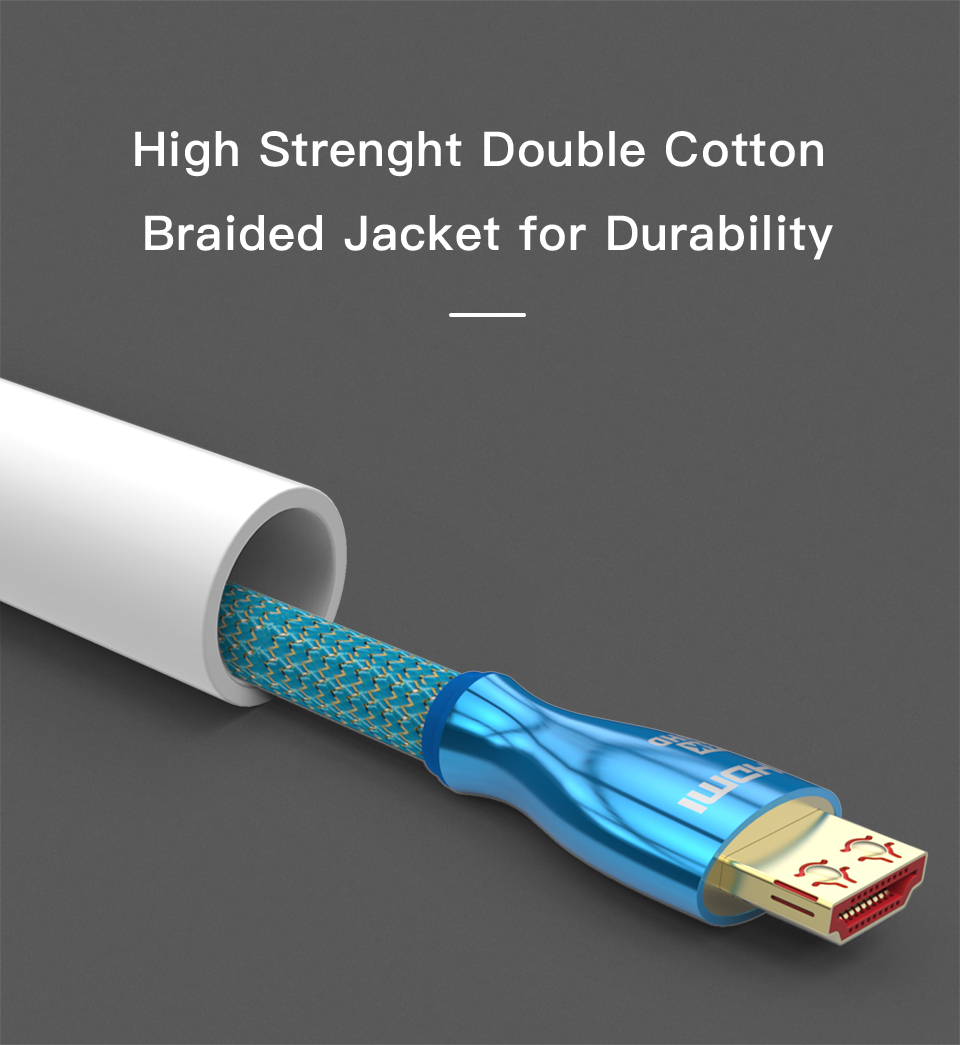 HDMI to HDMI Cable 2.0 4K 3D High Speed HDMI Cable for PS4PS3 Xiaomi Projector  (9)