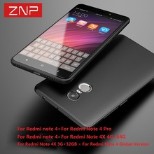 ZNP Highly quality case for Xiaomi redmi note 3 4 4X Ultra thin soft color cover cases for Xiaomi redmi 4 4pro for redmi note 4X